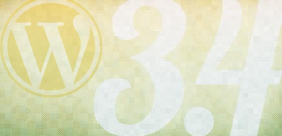 Вордпресс 3.4