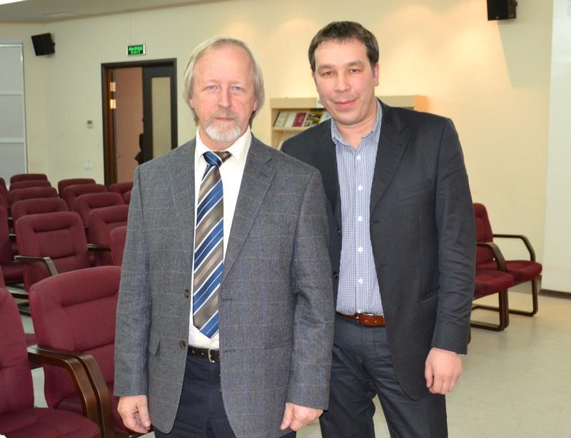 С Афанасьевым Михаилом Дмитриевичем