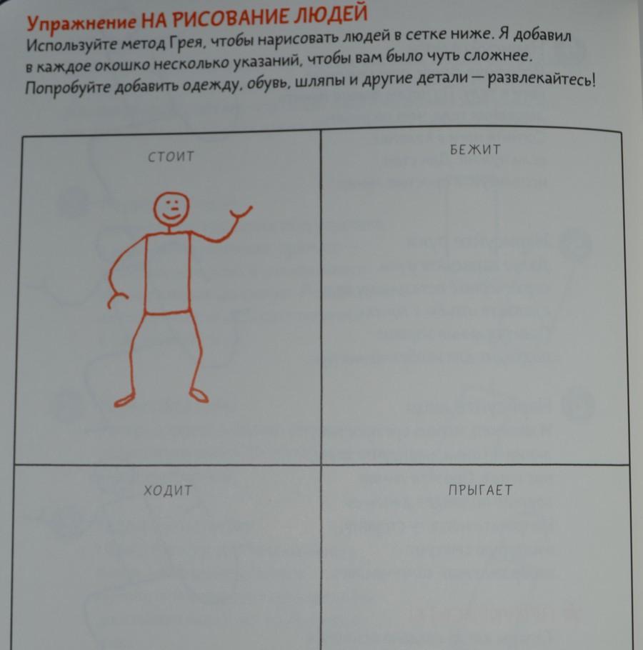 Рисование человечков
