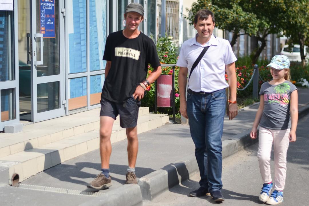Немецкий путешественник Йенс Квасс в Чебоксарах