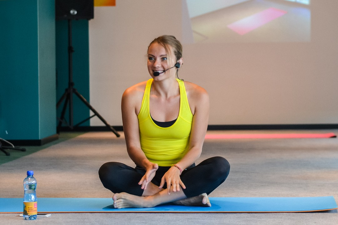 Мастер-класс по йоге в Чебоксарах с Еленой Чистяковой