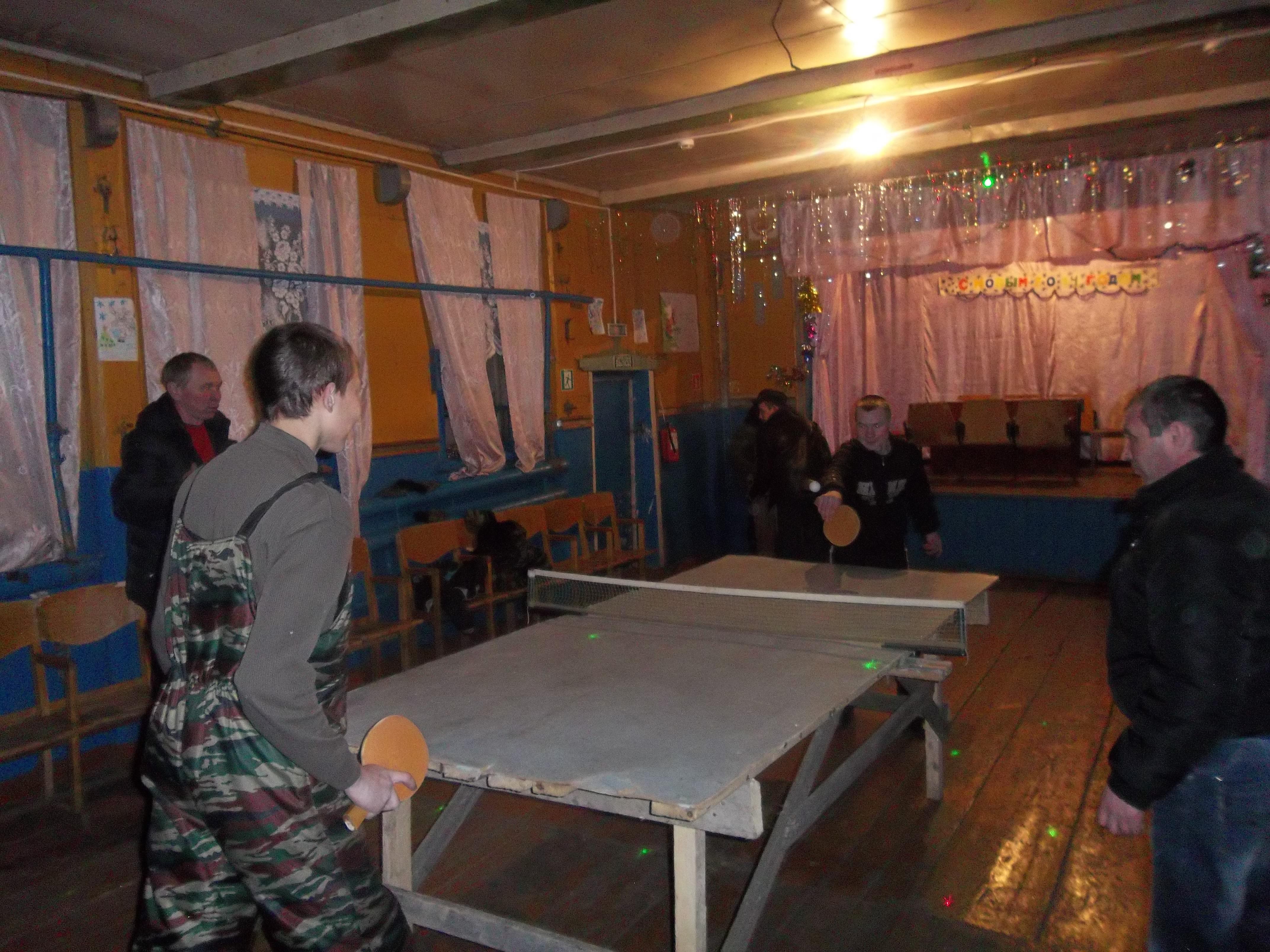 Ендобинском сельском клубе
